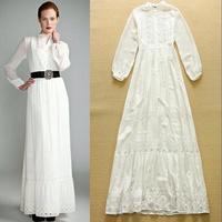 High Quality New Fashion  2015 Spring and summer elegant  dress elegant embroidered dress
