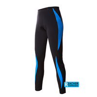 men cycling mountain road bike bicycle sports long compression tights pant jersey.3D coolmax padded