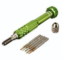 5in1 Screwdriver Bit Kit Repair Opening Tool Set For iPhone 4/4S/5/5C Green