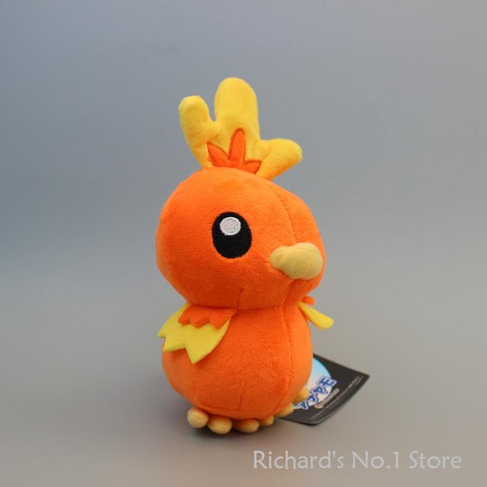 18cm 30pcs/lot Cartoon Anime Game Pokemon Pocket Plush Torchic Doll Baby Toys Stuffed Plush Figure Doll(China (Mainland))