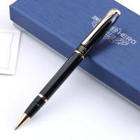 HERO 1079 gold black lea clip senior roller pen