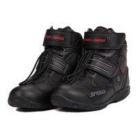 New 2015! Motorcycle Boots PRO-BIKER SPEED BIKERS Moto Racing Protector Motorbike Motocross Leather Shoes A005 Free Shipping