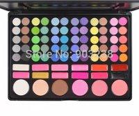 Profesional 78 Color Eyeshadow Palette Luminous Eyshadow and blush Makeup brushes kit Set (Color # 3)