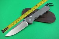 Chris Reeve CNC D2 Blade Titanium alloy Handle Folding knife FREE SHIPPING CR08