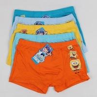 Good Quality Bamboo Fiber annimal short panties Boys underwear panties calcinhas Children Briefs cheap 5PCS/LOT