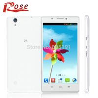 Original ZTE Q705U 5.7 Inch 3G WCDMA MT6582 1.3GHz 1GB RAM 4GB ROM Quad Core Moblie Phone Android 4.2 Dual SIM 1280*720 GPS 5MP