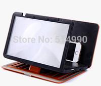 Brand New Mobile Phone screen magnifiers phone handset amplifiers creative eye view artifact treasure 3D home theater SJ0014