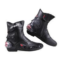 New 2015! PRO-BIKER SPEED BIKERS Men's Motorcycle Racing Shoes Outdoor Sports Motorbike Motocross Breathable Moto Boots