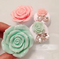 New Handmade Cute Flower Pocket Mini Contact Lens Case Travel Box Drop Shipping