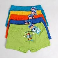 New Style Comfortable Cat Print short panties Boys underwear panties calcinhas Children Briefs cheap 5PCS/LOT