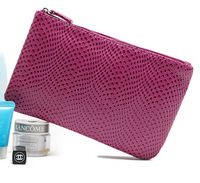 Women rose red patent leather purse brand cosmetic bag ladies makeup bags small for girls cute hand candy color case