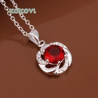 Free shipping N473 hot brand new fashion popular chain 925 silver neckalce jewelry