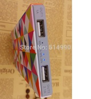 Polymer creative explosion models customized gifts charging treasure 20000 mAh new ultra-thin mobile power external battery pack