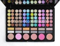 Profesional 78 Color Eyeshadow Palette Luminous Eyshadow and blush Makeup brushes kit Set (Color # 1)
