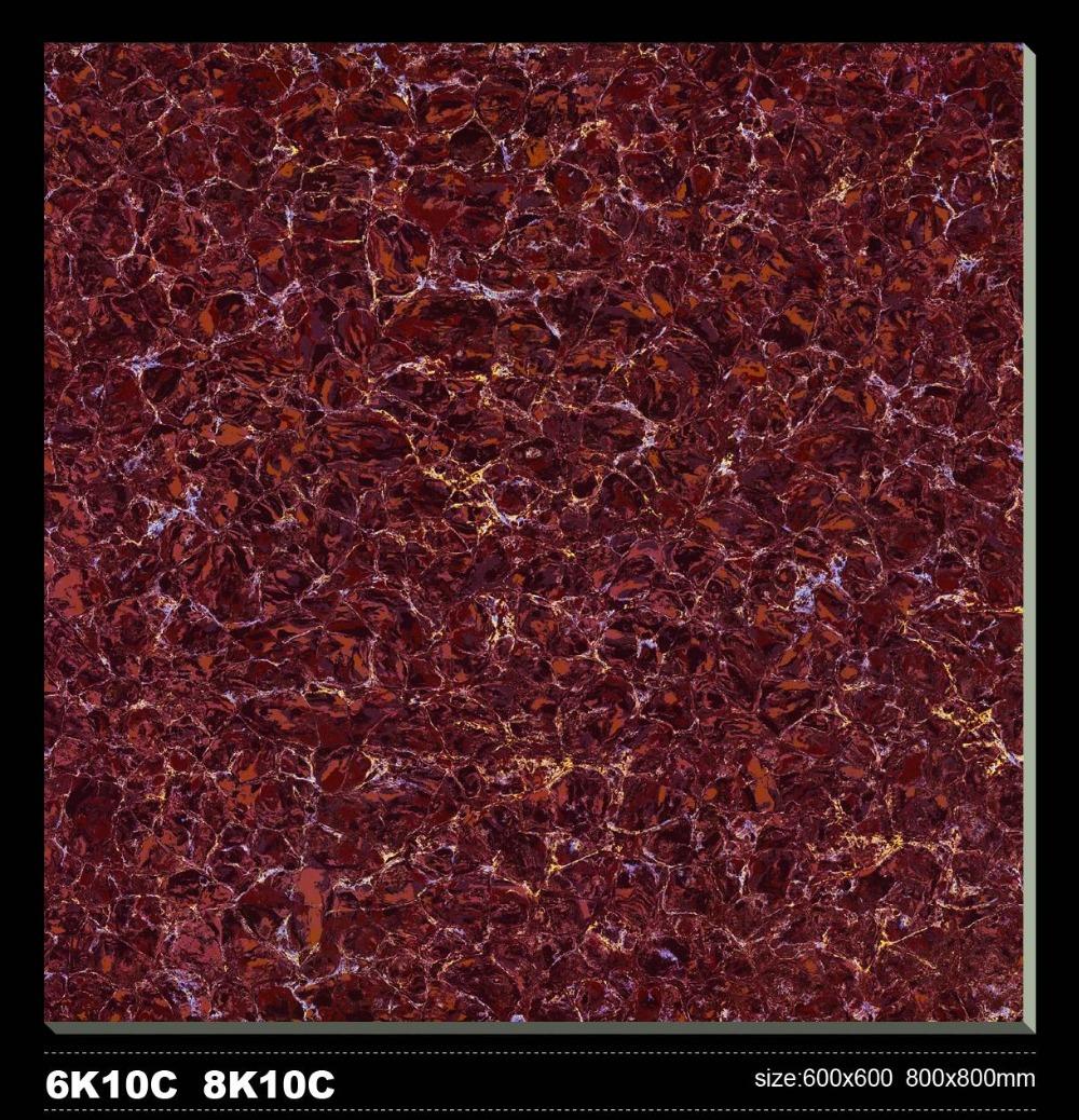 2015 Porcelain Polished Floor Tiles with nano 600X600MM LuBan PuLaTi 6K10C