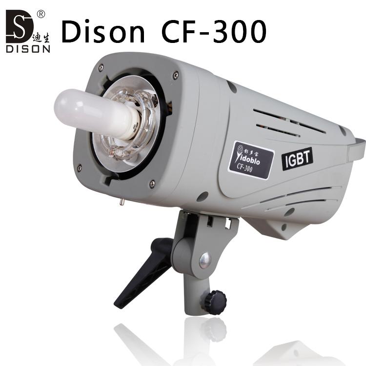 Dison CF-300 56GN studio photography light photo strobe lighting wireless flash for professional photographer studio flashes(China (Mainland))