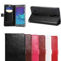 K-C Luxury Card Pocket Wallet Stand Leather case Cover Protector Skin For Samsung Galaxy Note Edage N9150