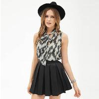 New Hot Chiffon sexy top women tops vest blusa de renda regata feminina blusas femininas regatas femininas 2014 blouse
