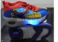 Child Sneakers Girls Boys Roller Shoes for Children Wheel Shoes Breathable Roller Skate Kids Flashlight Flying Shoes Size 28-36