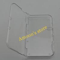 5pcs/lot Transparent crystal case for New 3DSLL 3DSXL Protective Case