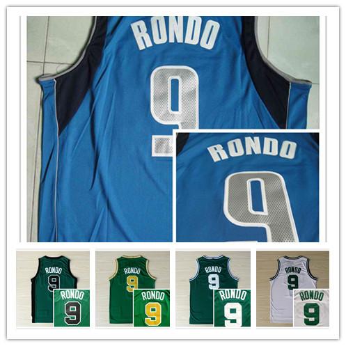 #9 #9 Rajon Revo Basketball Jerseys цены онлайн