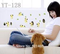 YT-128 Luminous stickers Wall stickers Switch sticker Free Shipping