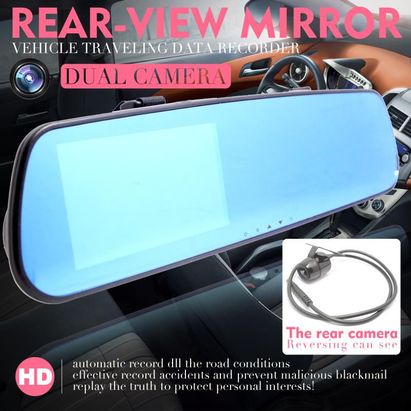 Авто и Мото аксессуары Rear view camera 4,3/1080p DVR