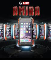 2015 NEW Armor Aviation Aluminum Metal ShockProof WaterProof Case For Apple iphone 6 4.7 inch +Gorilla Glass