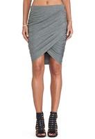 2015 New Fashion Women Elegant Casual High Waist Sexy Night Club Wear Slimming Bodycon Beach Bandage Gray Knee-Length Skirts P55
