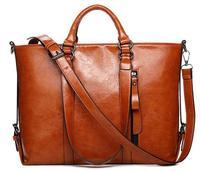 2015 New Fashion Women Leather Handbag Vintage Women Messemger Bags Shoulder Bag Hot Crossbody Bag Leather Tote Bolsas B685