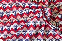 50cm*110cm Japanese  Patchwork  Quilting Cloth  Sateen Fabric  Echino By Etsuko furuya Stag  A