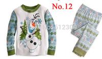 2015 fashion new frozen pajamas kids pyjamas olaf costume baby frozen pijamas frozen cartoon baby clothing sets
