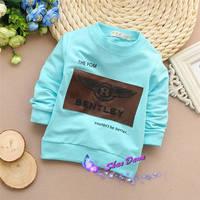 2015 Spring and Autumn Child Boys fashion letter T-shirts,Kids T-shirt,4pcs/lot,V1562