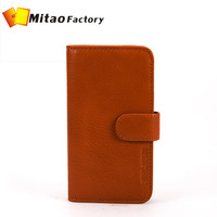 Top Quanlity case for iphone 6 leather mobile cover,Italian vegetable tanned leather phone case for iphone 6 mobile phone wallet
