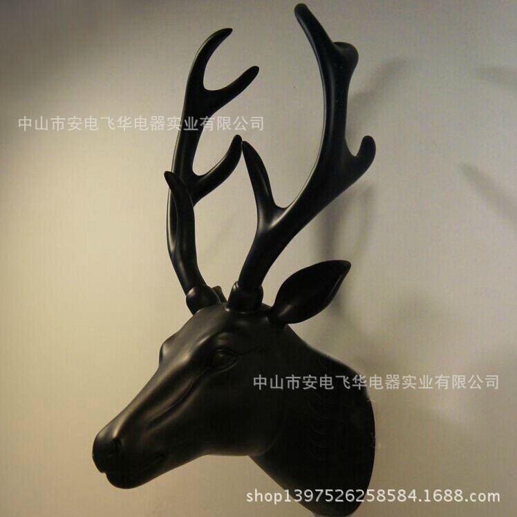 Simulation deer wall lamp headlights European decorative arts and crafts living room restaurant bar aisle animal wall sconce(China (Mainland))