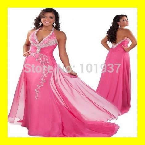 Buy Prom Dresses Trumpet /Mermaid Floor-Length Court Train Built-In Bra Beading Halter Off The Shoulder Sleeveless Natural Chiff(China (Mainland))