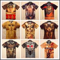 Women men casual T shirt 3D  Pharaoh Sphinx printing T-shirt for mens womens Totem tshirt cool national  camisetas masculinas