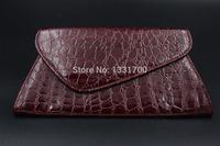 2015 New Fashion Korean Style PU Leather Handbag designer Rivet Lady wallet Clutch Purse Evening Bag drop shipping b4 4004