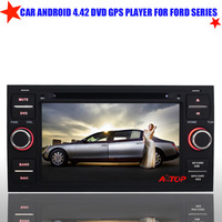 8GB Flash Free 8GB Map card Android 4.42 Car Dvd Gps Player for Ford C-max S-max Galaxy Transit Fiesta Built-in Wifi Bluetooth