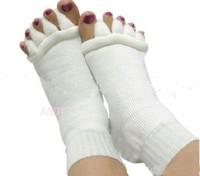 New Bunion Sock Cotton Meias Five Finger toe separator splint Socks For goodnight orthotics footcare Drop bunions pro insoles