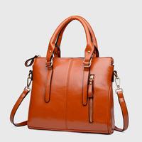 Hot-selling 2014 fashion wax cowhide women's bags handbag cross-body one shoulder female