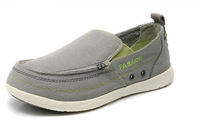Brand New 2014 men's shoes blue/grey /sky-blue Casual canvas shoes sports loafers men lazy sneakers flat !!!