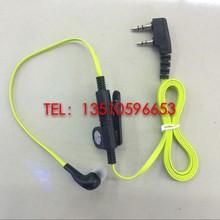 Baofeng walkie talkie accessories multicolour fashion quality noodles earphones ktv ear headset