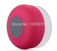 Portable Waterproof Wireless Bluetooth Speaker Shower Car Handsfree Receive Call Music Suction Phone Mic Free Shipping