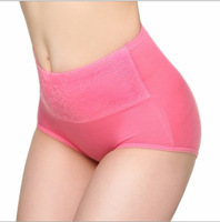 Lady's High-waisted  Panties Hold Buttocks Shaper Bamboo Panties  Healthy Body Shaping  Briefs 8 Colors