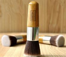Flat Top Buffer Foundation Powder Brush Cosmetic Makeup Tool Wooden Handle OZ