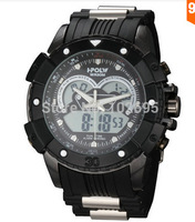 2015 Readeel Fashion Casual Digital Watch Brand Men Analog Quartz Watches Dual Time Military Men Sports Watches Rubber Men Watch