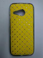 New arrival bling rhinestone diamond case for HTC One Mini 2 M8 Mini phone bag covers,free shipping