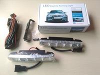 one set 2 pcs 12 v 5w LED Daytime Running Light DRL lights  led High power led drl  Universal car led drl Super White
