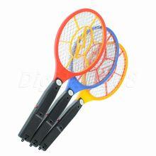 New Fashion Handheld Electronic Mosquito Bug Zapper Fly Swatter Racket LED Light Indicator for Camping Hiking(China (Mainland))